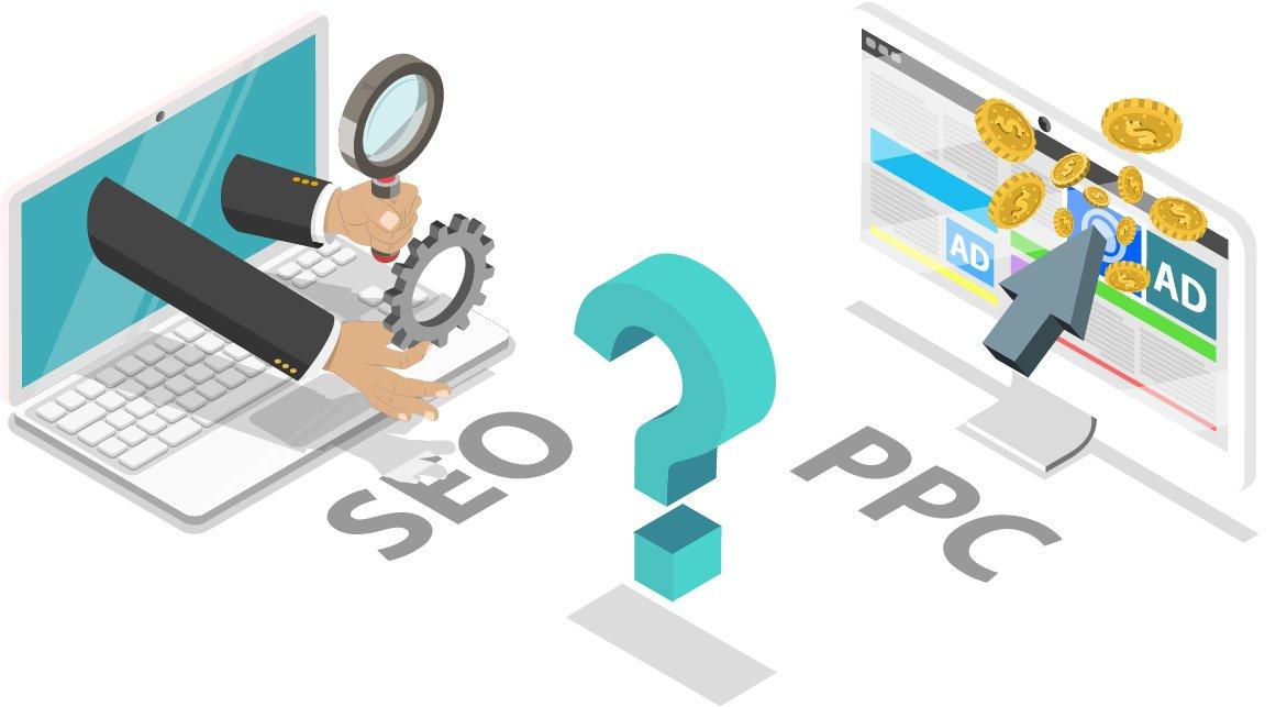 קידום אתרים אורגני בגוגל מול קידום בתשלום (PPC)