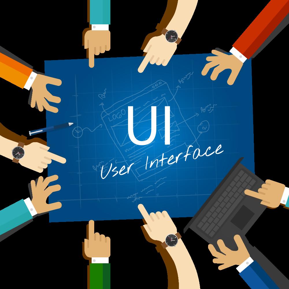 UI הוא ממשק המשתמש.