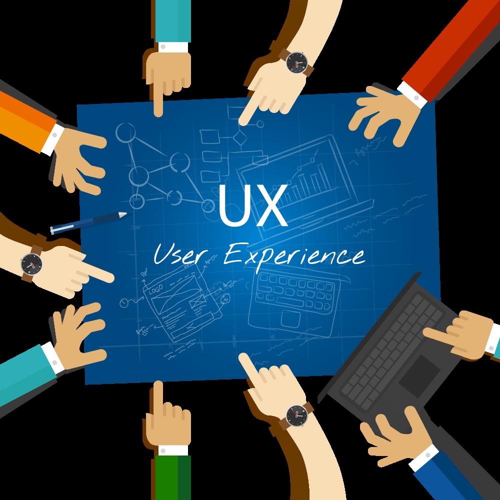 UX הוא עיצוב חווית משתמש.